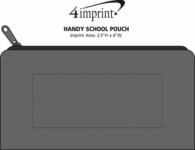 Imprint Area of Handy School Pouch