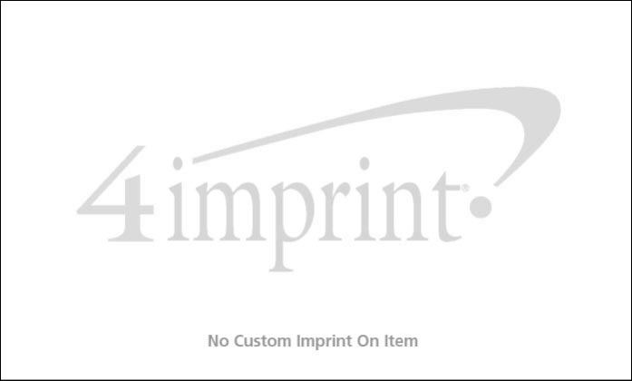 Imprint Area of Serged Closed-Back Table Throw - 6' - Blank