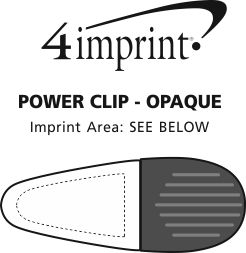 Imprint Area of Power Clip - Opaque