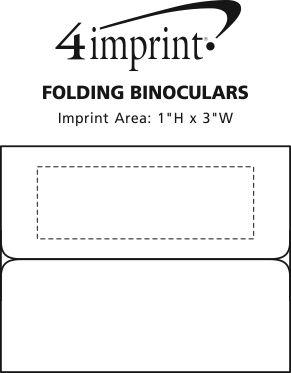 Imprint Area of Folding Binoculars