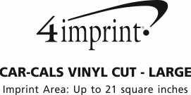 Imprint Area of Car-Cals Vinyl Cut - Large