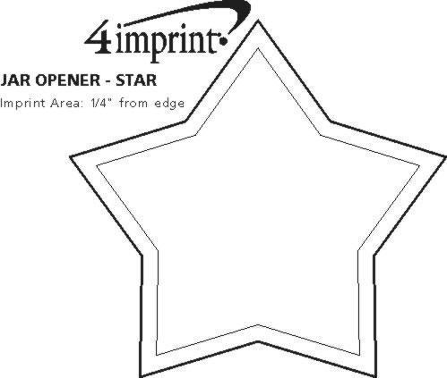 Imprint Area of Jar Opener - Star