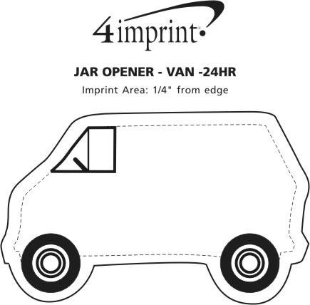 Imprint Area of Jar Opener - Van - 24 hr