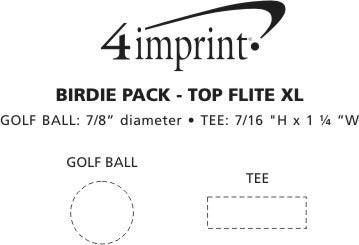 Imprint Area of Birdie Pack - Wilson Ultra