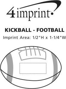 Imprint Area of Kickball - Football