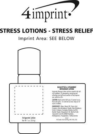 Imprint Area of Invigorate Lotion