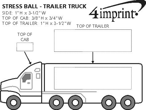 Imprint Area of Trailer Truck Stress Reliever