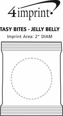 Imprint Area of Tasty Bites - Jelly Belly