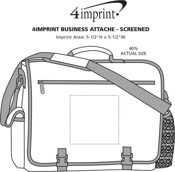 Imprint Area of 4imprint Business Attache - Screen