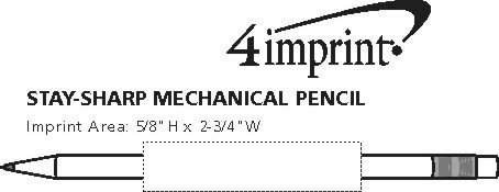 Imprint Area of Stay-Sharp Mechanical Pencil