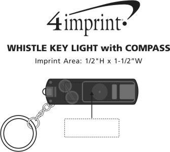 Imprint Area of Whistle Key Light