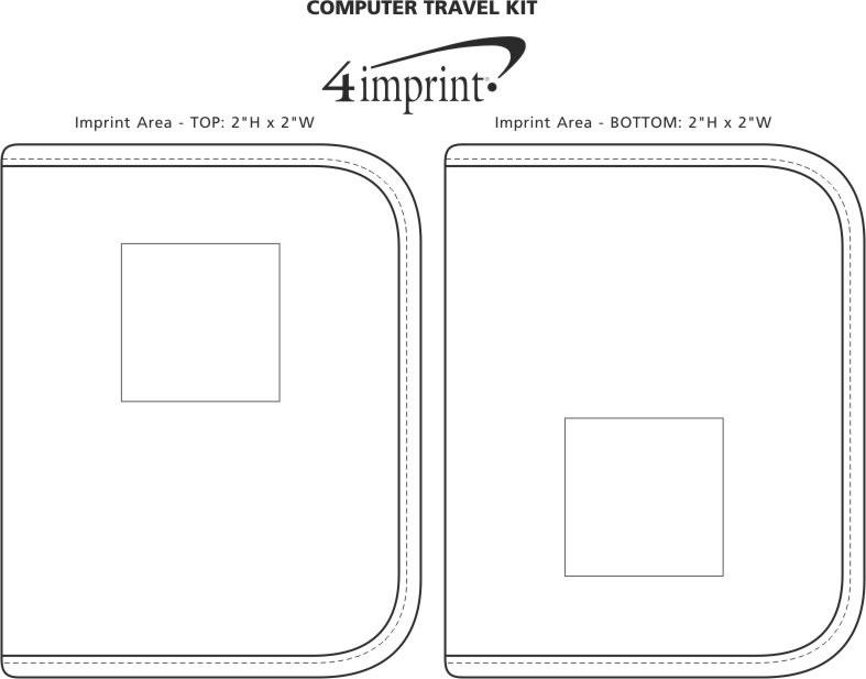Imprint Area of Computer Travel Kit