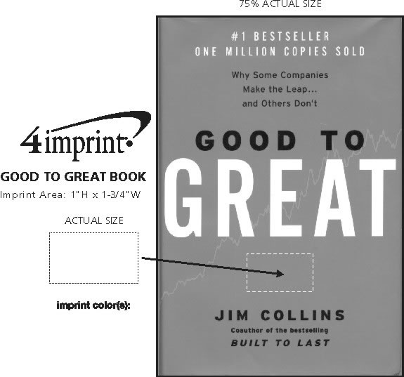 Imprint Area of Good To Great Book