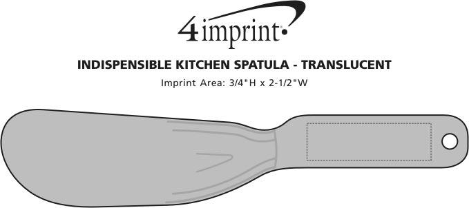 Imprint Area of Indispensable Kitchen Spatula - Translucent