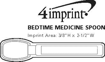Imprint Area of Bedtime Medicine Spoon