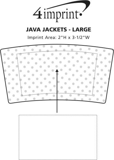 Imprint Area of Java Jacket - Large