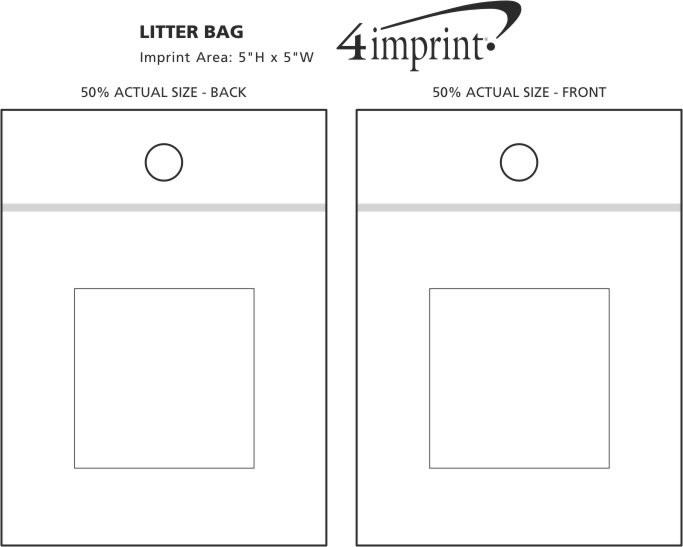 Imprint Area of Litter Bag