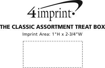 Imprint Area of The Classic Assortment Treat Box