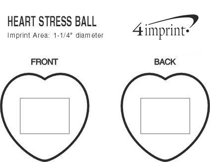 Imprint Area of Heart Stress Reliever