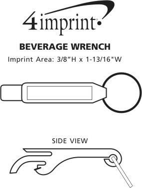 Imprint Area of Beverage Wrench