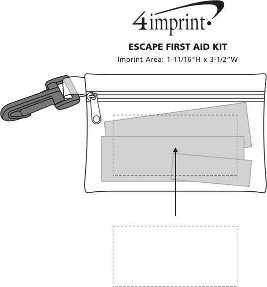 Imprint Area of Escape First Aid Kit