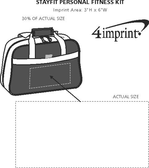 Imprint Area of StayFit Personal Fitness Kit