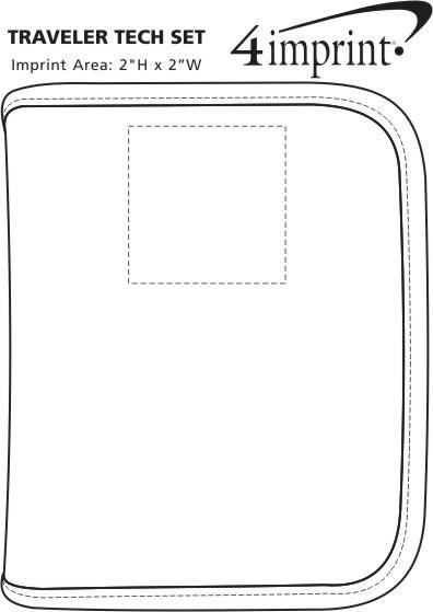 Imprint Area of Traveler Tech Set