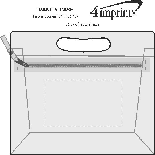 Imprint Area of Vanity Case