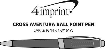 Imprint Area of Cross Aventura Twist Pen