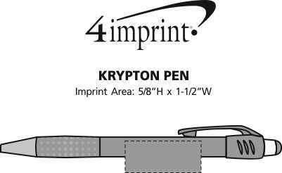 Imprint Area of Krypton Pen