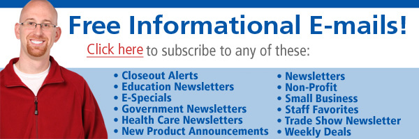 Click to Subscribe to Free Informational E-mails!