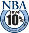 Save 10% with code NBA10