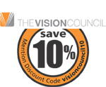 Save 10% with code visioncouncil10