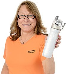 Mary Recommends the O2COOL ArcticSqueeze Insulated Sport Bottle