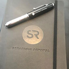 Customer photo of the Stylus Pen & Soft Cover Journal