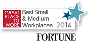 Great Place to work for small and medium workplaces 2014