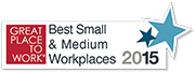 Great Place to work for small and medium workplaces 2015