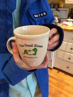 Customer photo from Henry of our Custom Coffee House Mug - 18 oz.