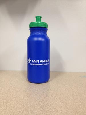 Customer image from Laura of our Sport Bottle with Push Pull Lid - 20 oz. - Colors