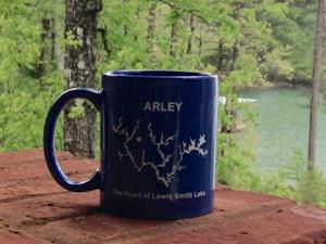 Customer photo from Caren of our Value White Mug - 11 oz.