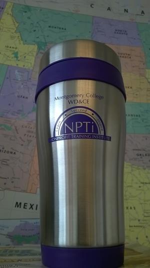Customer photo from Tracee of our Steel Tumbler with Color Trim - 16 oz.