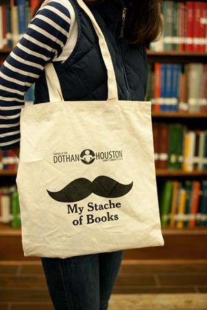 "Customer image from Everlie of our Cotton Sheeting Natural Economy Tote - 15-1/2"" x 15"""