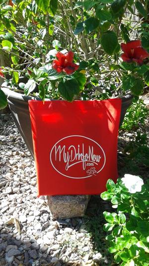 Customer photo from Gary of our Value Polypropylene Tote
