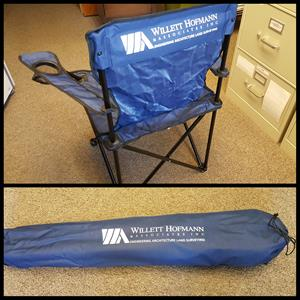 Customer photo from Michael of our Folding Chair with Carrying Bag