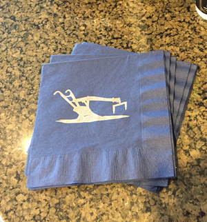 Customer photo from Chad of our Colorware Luncheon Napkin - 2 ply
