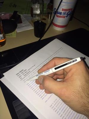 Customer photo from Cody of our Bic Clic Pen - 24 hr