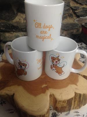 Customer image from Deirdre of our White Mug - 11 oz. - Full Color
