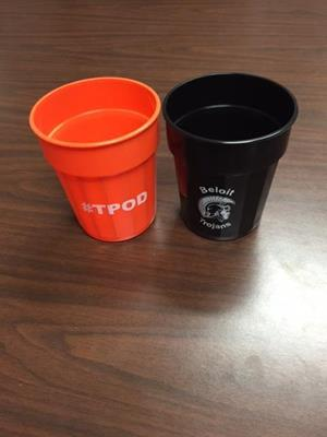 Customer image from CASEY of our Stadium Cup - 16 oz. - Fluted