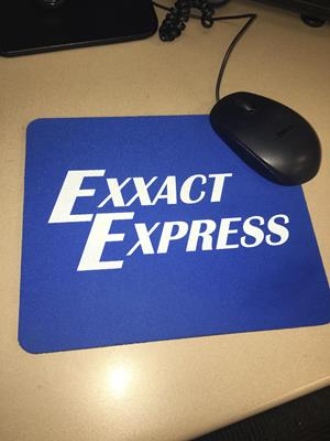 Customer photo from Erin of our Soft Mouse Pad - Standard