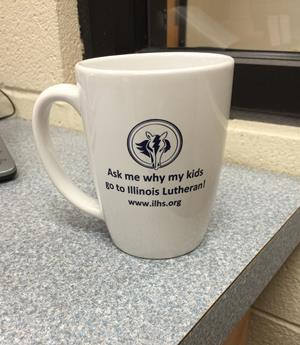 Customer photo from Jesscia of our Challenger Coffee Mug - White - 11 oz. - 24 hr